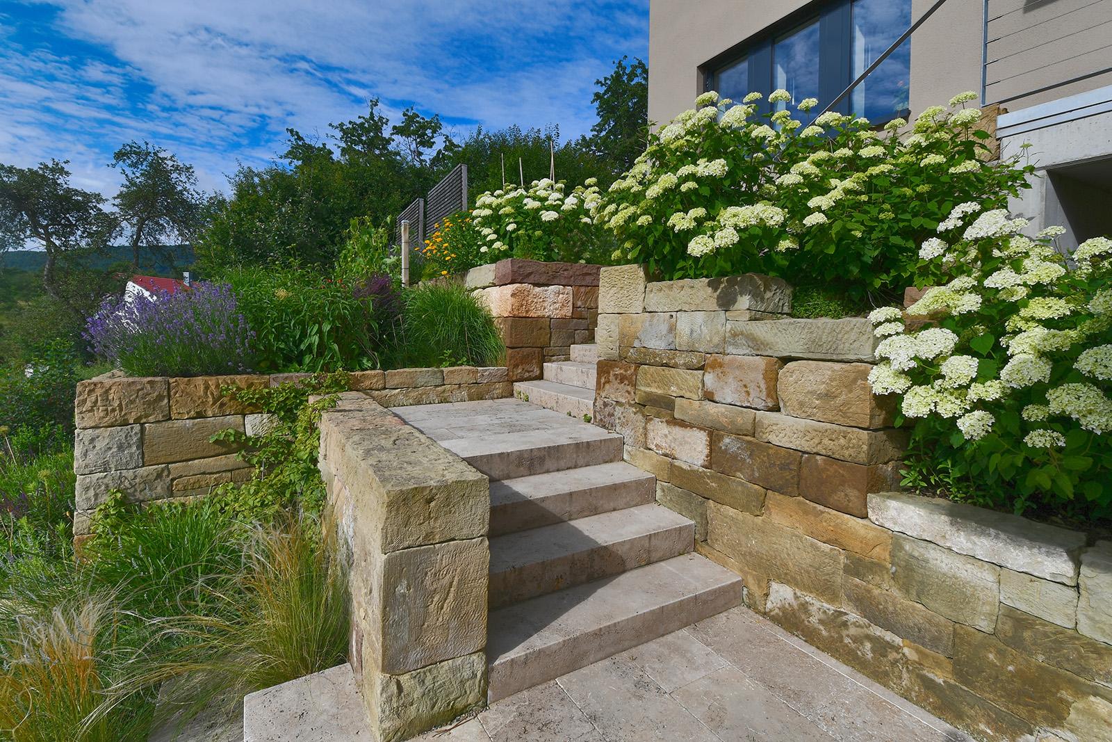 67 besten garten treppe bilder for Gartengestaltung treppe