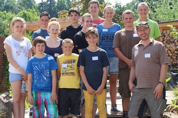 Die Besuchergruppe von 2013
