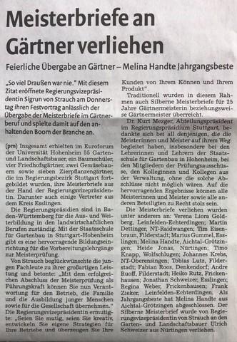 Nürtinger Zeitung 14.07.2018