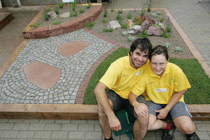 Melina Kasper und Sebastian Buck