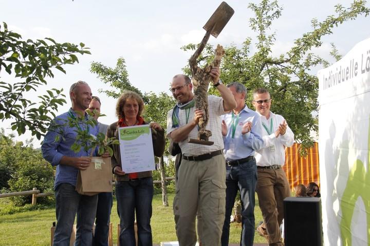 """Stolzer Gewinner der """"Pomoma"""" 2011"""