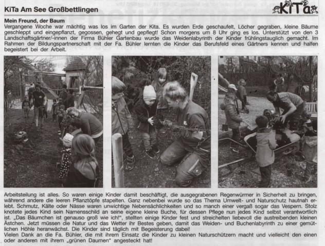 Zeitungsartikel-Bühler