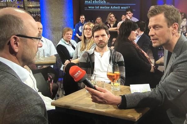 Albrecht Bühler und Ulrich Otto im SWR Fernsehen