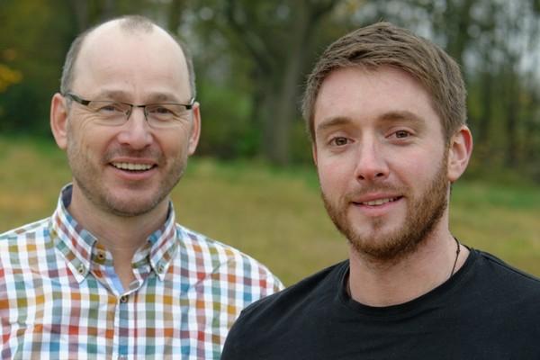 Albrecht Bühler und Daniel Mayr