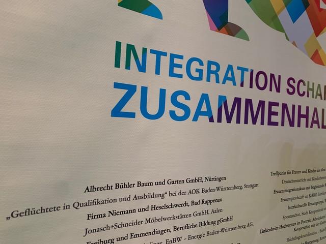 Albrecht Bühler Baum und Garten war vertreten beim Integrationspreis des Landes Baden-Württemberg