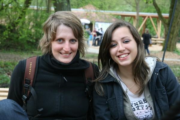 Eva Müller und Jennifer Schlundt