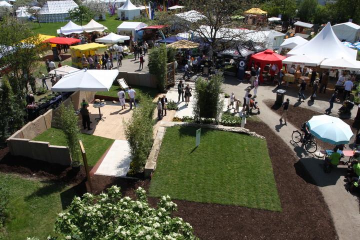 Unser Stand auf der GardenLife 2008