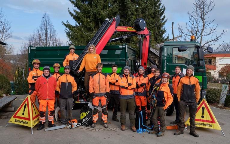 Unser Baumpflegeteam