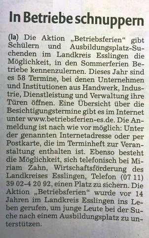 Nürtingern Zeitung