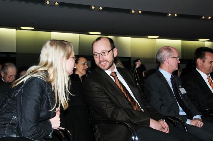 Albrecht Bühler bei der Preisverleihung