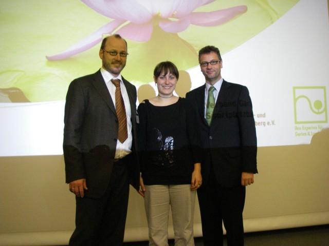 Minister Hauk, M. Kasper und A. Bühler