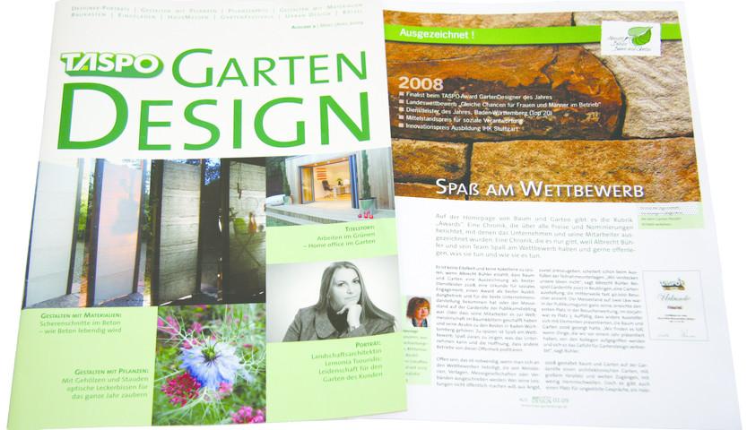 Moderne Gartengestaltung