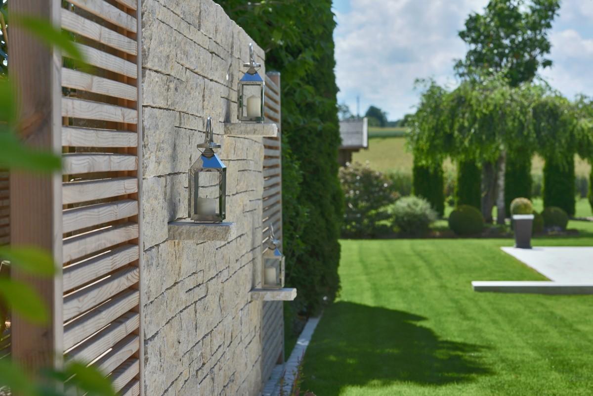 Galerie Gartengestaltung mit Holz